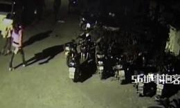 跑酷☆【56城事拍客】醉酒男凌晨车顶玩跑酷 6辆汽车全遭殃
