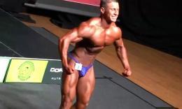【豹哥健美】NABBA Northern健美赛选手Simon Sinclair造型...
