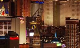 美国城市夜景航拍03  1