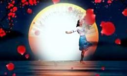龙岩舞之乐广场舞 老家的月亮
