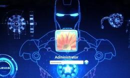 钢铁侠贾维斯系统开机动画图片