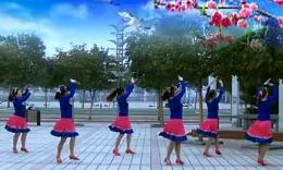 姑娘姑娘你真美-青馨明月广场舞(正面)
