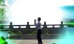 凤凰六哥广场舞蝴蝶泉边正反面演示