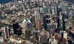加拿大城市航拍  3