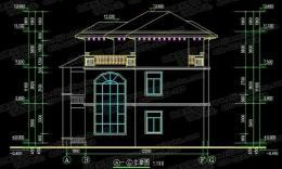 三层别墅外观效果图 农村房子装修效果图
