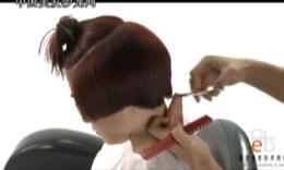 戴柏时尚梨花头发型 剪发吹风 美发视频 短发造型