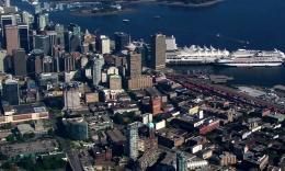 加拿大城市航拍