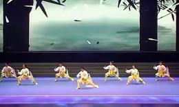 2014年全国武术套路锦标赛太极拳赛 集体项目 (广西)第八名