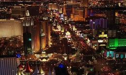 美国城市夜景航拍01  3
