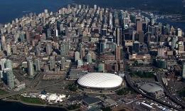 加拿大城市航拍  1