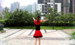 重庆葉子广场舞(原创三步 等一等爱,附背面演示