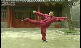 张东武陈式太极拳老架一路教学41第三十七式:右蹬一跟 高清